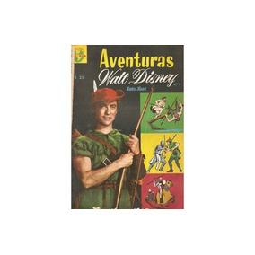 Aventuras Walt Disney 3 Robin Hood Editorial Zig Zag 1964