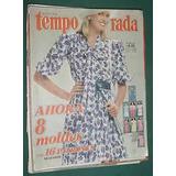 Revista Temporada Oct/82 Moda Ropa Vintage Sin Moldes