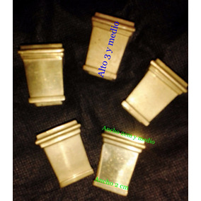 Regatones Bronce Macizo El Precio Es C/u Mide 3 1/2 L X 3a
