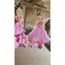 Barbie- 5 Displays De Mesa E 2 Display De Chão