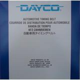 Correa Tiempo Laser Alegro Shuma 323 Mx-3 Miata 145d 94206