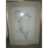 Retratos Indígenas,.dibujo En Lapiz