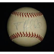 Pelota Autografiada Firmada Felix Pie Baltimore Orioles Mlb