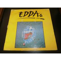 Lp Edda Muvek 6, Disco Vinil, Ano 1986, Raridade