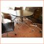 Mesa Redonda Miller Aluminium Eames Retro