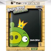Capa Para Ipad Angry Birds Black Bomb+smart Cover De Brinde!