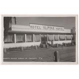 Cordoba Huerta Grande Hotel Alpina Foto Postal Antigua