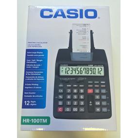 Calculadora Casio Hr100-tm + Fonte 110/220v
