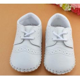 Tênis Sapato Para Bebê Branco
