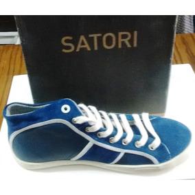 Zapatillas Botitas Satori De Puro Cuero Originales!!!!