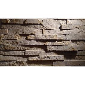 Paneles De Poliuretano Antihumedad Simil Piedra Laja Apilada