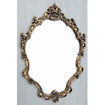 Espelho Decorativo Barrock Tok Stok Ouro Velho