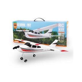Avião Cessna F949 182 Wltoys + Bateria E Frete Grátis