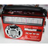 Radio Waxiba + Panel + Lampara Solar +am/fm/sw/usb/sd