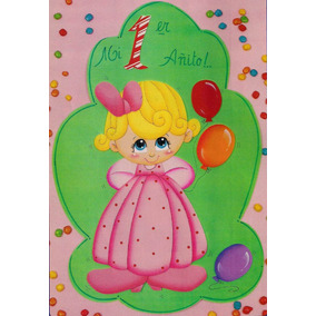 Carteles Para Cumpleaños Primer Añito Para Nena De Goma Eva