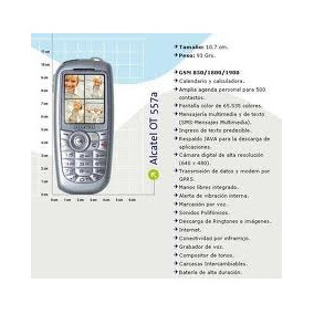 Manual Original Para Alcatel One Touch 557a (ot557)