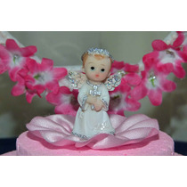 Angel Angeles Baby Shower Bautismo Comunion Souvenir X 10 Un