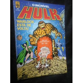Gibi O Incrivel Hulk Abril Numero 20 De 1985