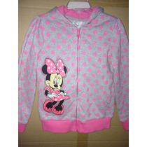 Chamarra Niña Disney Minnie Mouse Sudadera Mimi Mouse