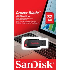 Pendrive Sandisk 32gb Totalmente Nuevo Y Sellado En Blister