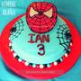 Tortas Infantiles Cumpleaños - Spiderman Hombre Araña