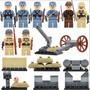 Exército Alemão E Japones Segunda Guerra Mundial Lego Compat