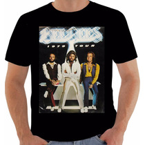 Camiseta Poster Original World Tour 1979 The Bee Gees