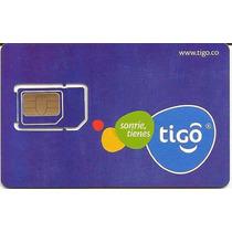 Sim Card Tigo 2gb Y 50 Minutos Todo Operador Vence Al Mes