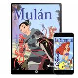 Princesas De Disney Cuentos Infantiles 40 Libros - Digital