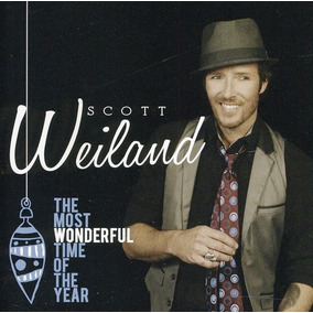 Scott Weiland-most Wonderful Time Of The Year Cd-novo-lacrad