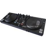 Controlador Dj Moon Dmd 800 Usb Virtual 8 Le Mixer Consola