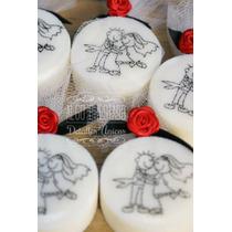 Souvenirs Jabones Estampados Casamientos/aniversarios