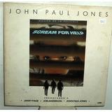 John Paul Jones Led Zeppelin Scream For Help Vinilo Argentin