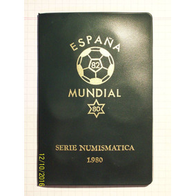 España Serie Numismatica 1980 Serie 6 Valores (1 De 1975)