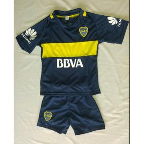 Nuevo! Boca 2017 Conjunto Camiseta+short Niños Envíos