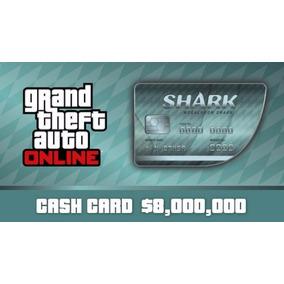 Gta V Pc Online Megalodon Shark Cash Card 8.000.000
