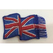 Patch Bordado Termocolante Bandeira Inglaterra 4x2,5 Cm 114