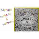 Libros Mandalas. Jardin Secreto, Oceano Perdido Y Más.