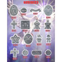 Plaquitas Repujado Varios Recuerdos Manualidades Aluminios