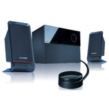 Home Theatremicrolab 2.1 Aux Inm210 40 Watts Rms Totales