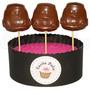 10 Chupetines De Chocolate Cars Rayo Macqueen Cumple Souveni
