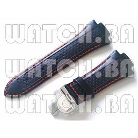 Pulseira De Couro Orient Mpscc001 Mbtcc001 - Vermelha - Nova