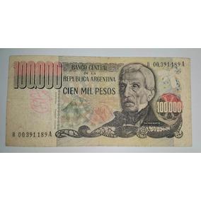 Billete 100.000 Pesos Argentina *090