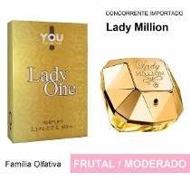 Perfume Lady One Similar Ao Lady Million Sedex Grátis 100m