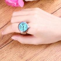 Hermosos Anillos Reloj/accesorio/moda Para Dama Enviogratis