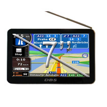 Gps 7 Pulgadas Dbs 7900 Tv Digital Hd Radares Zonas Peligros