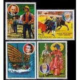 Paraguay 1977 Trajes Tipicos Yvert N° 1584 - 1587 Usados