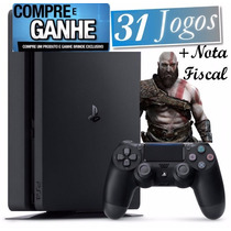 Playstation 4 Ps4 Slim Americano 2015a Barato +31jogos +nota