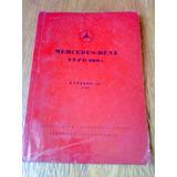 Antiguo Libro-manual De Despiece: Mercedes Benz 300 C 1956/7