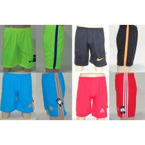 Kit Lote 03 Shorts Bermudas Masculinas Academia Ginástica